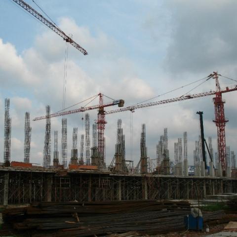 Об'єми будівництва зросли на 17%