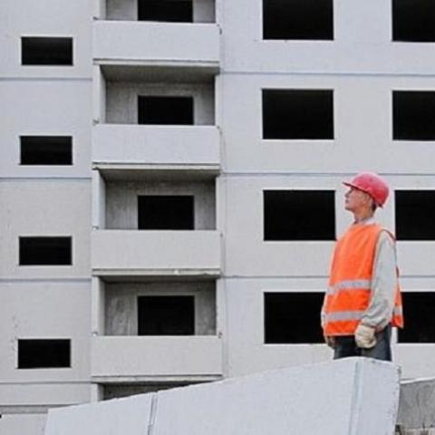 Объемы строительных работ в Киевской области в 2017 году