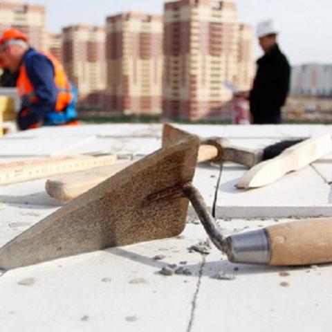 Объемы строительства в Киеве в начале года
