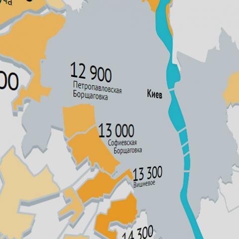 Обзор цен на новостройки в пригороде Киева к маю. Рост (почти) по всем направлениям