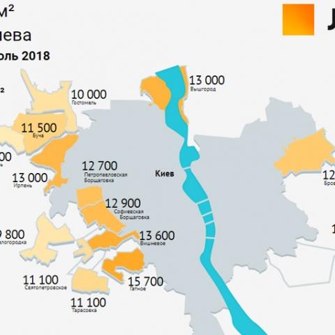 Определены самые дорогие и самые дешевые районы для покупки жилья в Киевской области
