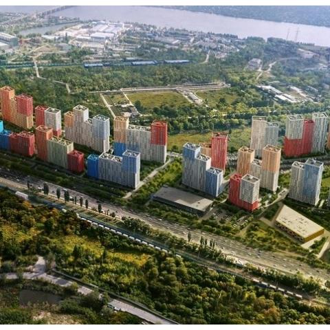 Опция объединения квартир в мини-городе SVITLO PARK