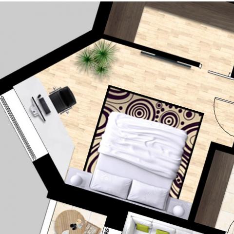 Перепланировка квартиры в ЖК Лейпцигская. Добавляем функциональность и комфорт