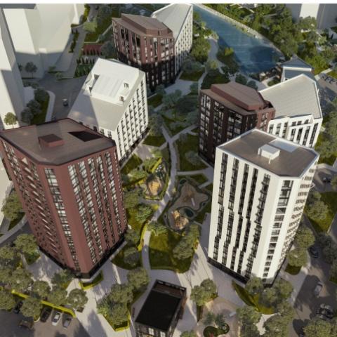 Перепланировка однокомнатной квартиры в ЖК Paradise Avenue: максимум комфорта