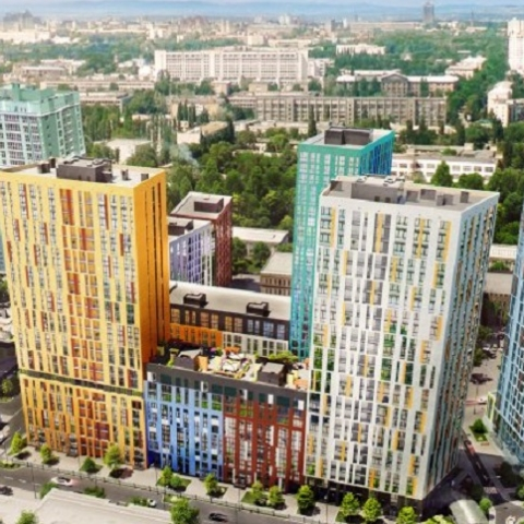 Первая очередь дома №4 жилого комплекса Малахит введена в эксплуатацию