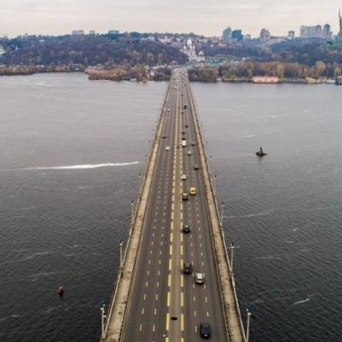 Планируй маршрут. Где в Киеве  ремонтируют мосты