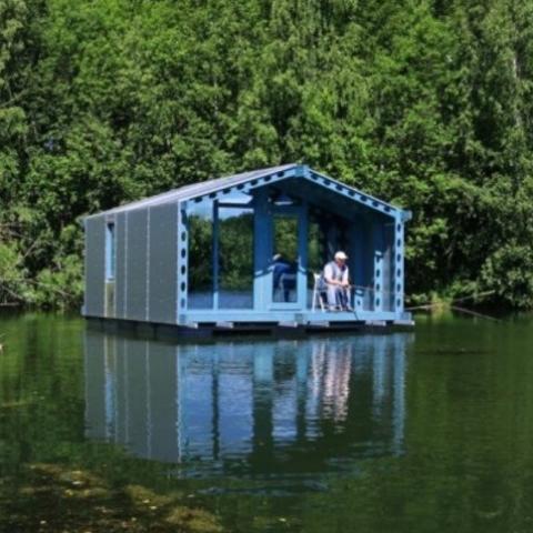 Плавучий дом для любителей жить на воде