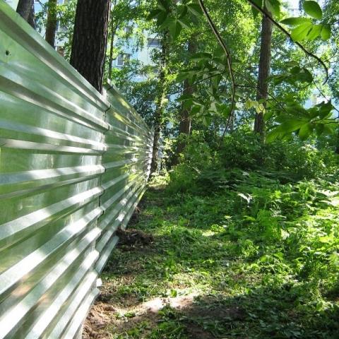 Под Киевом незаконно застраивались земли лесного фонда