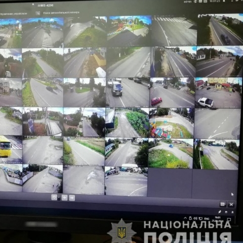 Под Киевом заработала система видеонаблюдения с автораспознаванием номеров