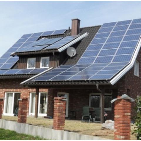 Половину электричества для жилых домов в Германии обеспечат солнечные станции
