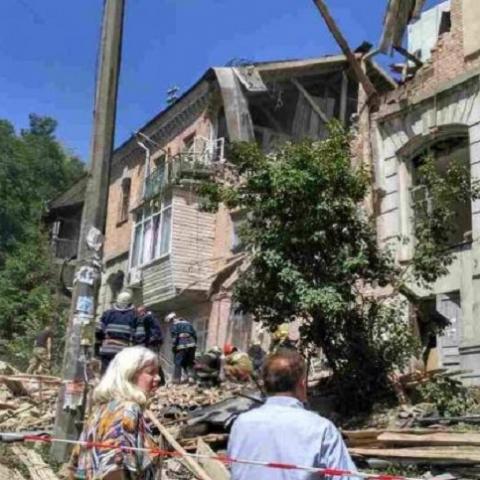 Пострадавшие от взрыва в Голосеевском районе получат помощь от Киевсовета