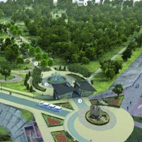 Появились первые фото проекта парка «Наталка»