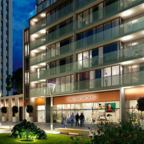 Разделяй и властвуй: превращение студии в ЖК «Метрополис» в однокомнатную квартиру