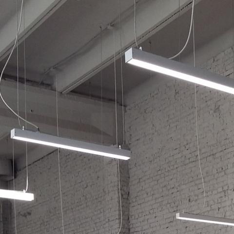 Разрешено использовать светодиодные светильники для наружного и внутреннего освещения