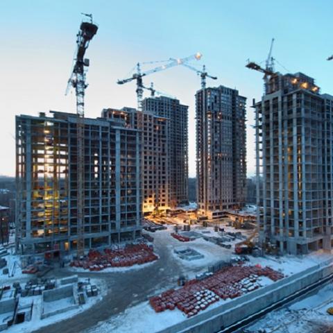 Регионы в которых сворачивается жилищное строительство