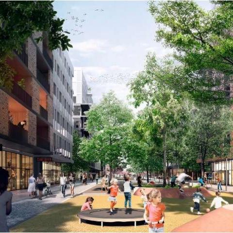SAGA Development создает в ЖК RYBALSKY общественное пространство и популярную локацию
