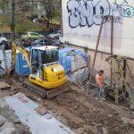 Скандальное строительство на Круглоуниверситетской продолжается