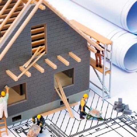 Сколько строительных работ было выполнено в стране за четыре месяца