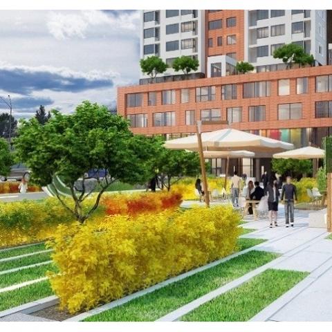 Согласовано строительство ЖК на месте рынка возле метро Оболонь