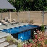 Создан плавательный бассейн из грузового контейнера