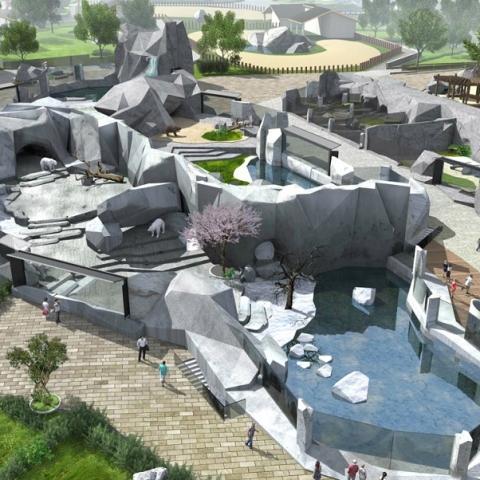 Стартовал первый этап реконструкции Киевского зоопарка