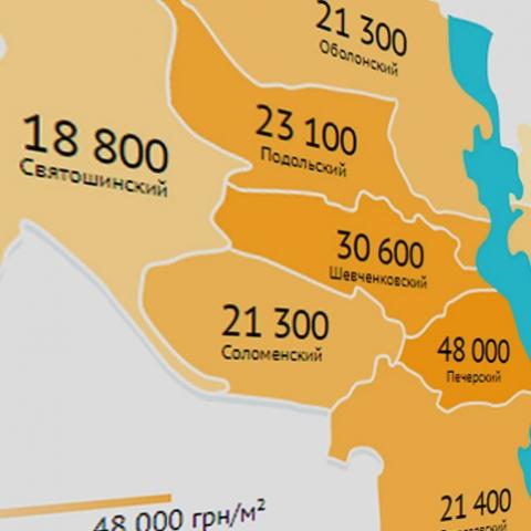 Столько стоит квадратный метр в новостройках Киева? Обзор средних цен на новостройки к августу 2018