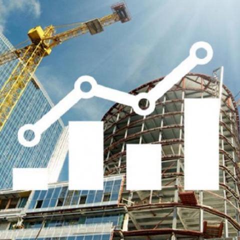 Строительная отрасль Украины выросла на 23%