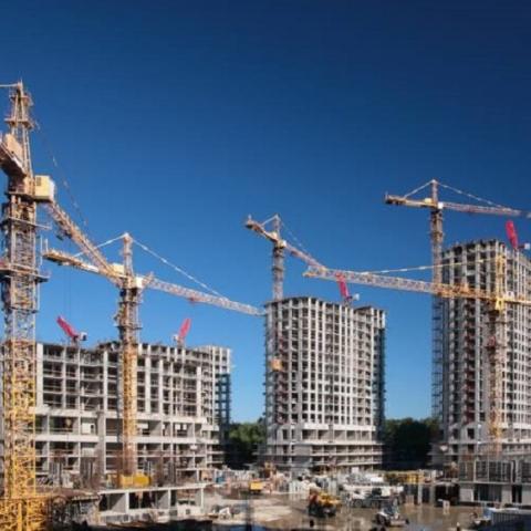 Строительный рынок Киева вырос на 30%
