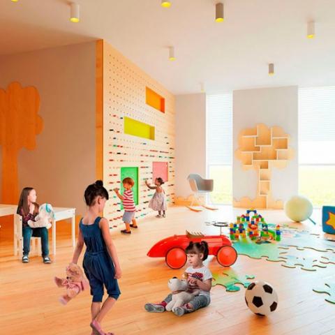 В каких комплексах в Киеве будут свои детские садики?