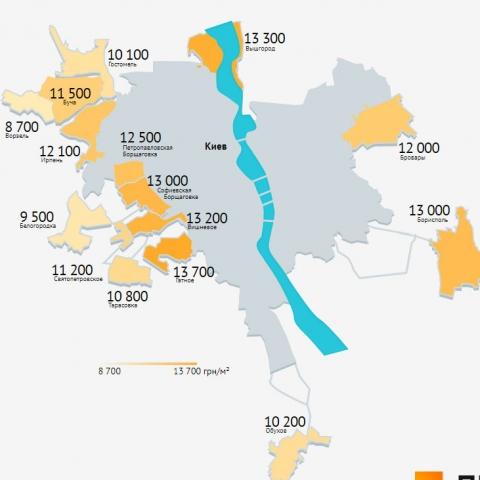 Цены на жилье в новостройках Ворзеля упали на 20%