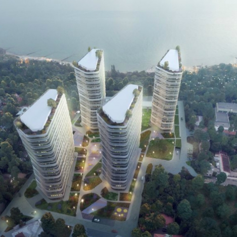 У KANDINSKY Odessa Residence розпочали продаж паркомісць