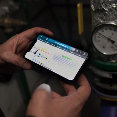 У Києві будуть зменшувати  вартість опалення в будинках за допомогою смартфона