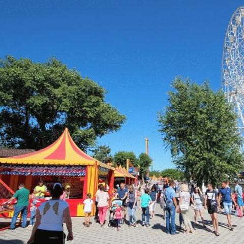 У столичному парку Відрадний облаштують дитячий парк розваг