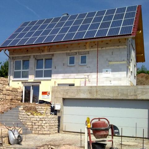 Украинские семьи переходят на солнечную энергию