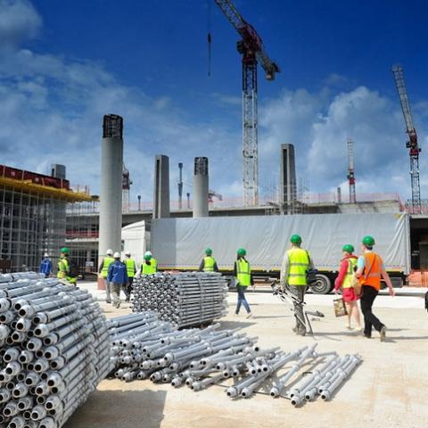 В 2016 году строительные предприятия выполнили работ на 71 млрд