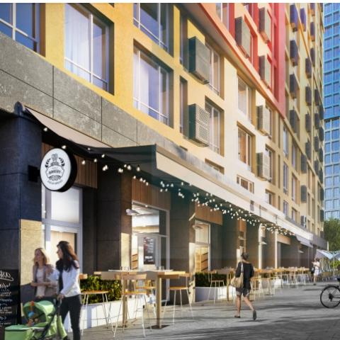 В 2019 году цена квартир в ЖК формата «город в городе» снизилась из-за валютных колебаний