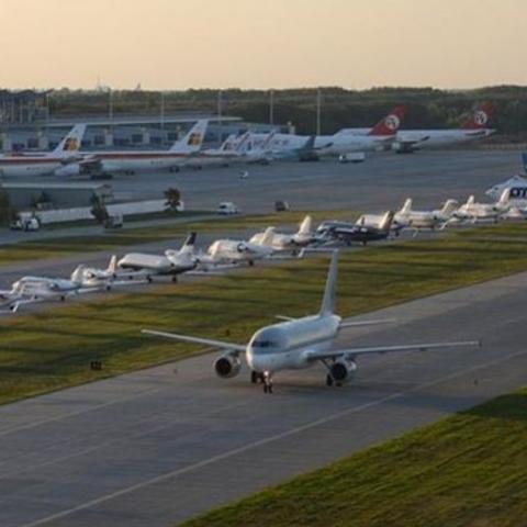 В аэропорту «Борисполь» в 2019 появится эскалатор на три этажа и откроется терминал F