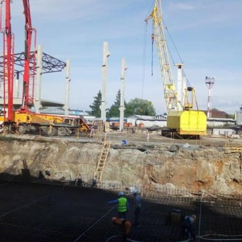 В аэропорту «Киев» начали сооружение новой секции международного терминала А