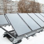 В четырех детских садах установили солнечные коллекторы