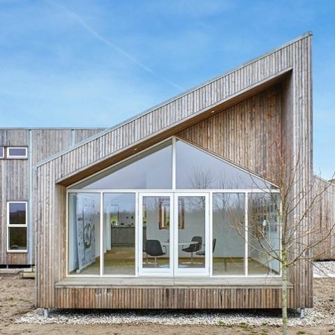 В Дании появился уникальный «биологический» дом