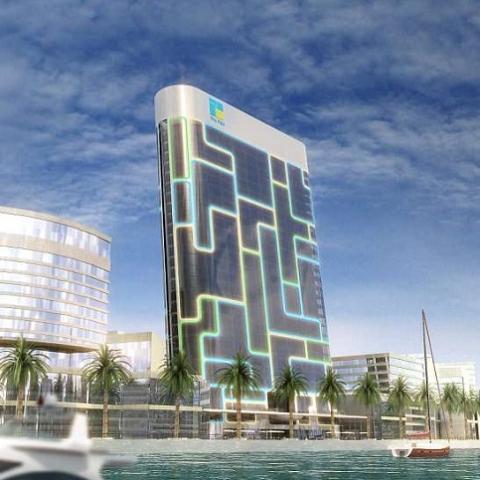 В Дубае построят жилой небоскреб в виде iPod