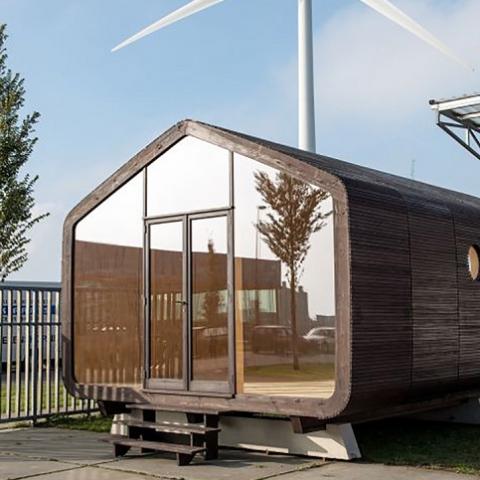 В Финляндии начали делать картонные дома