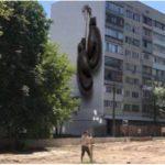 В Киеве готовят мурал на боксерскую тему