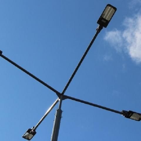 В Киеве модернизируют уличное освещение