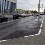 В Киеве обустроят «карманы» для парковки и остановок