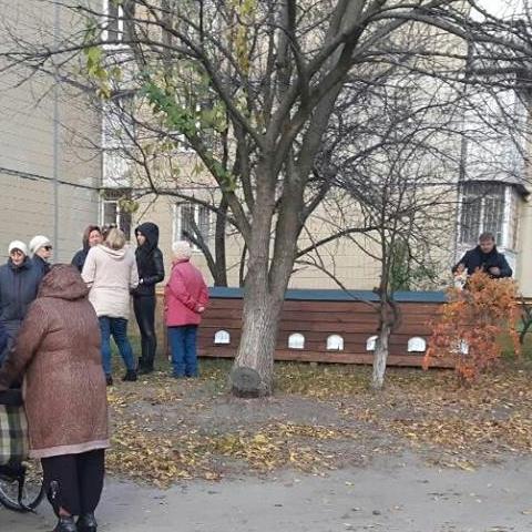 В Киеве построили домик для бездомных котов