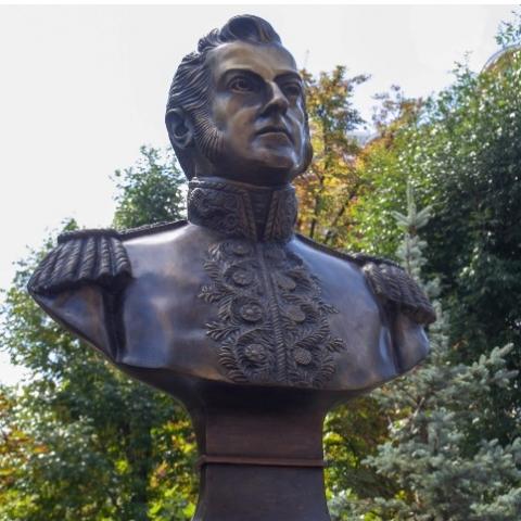 В Киеве появился памятник аргентинскому генералу-герою
