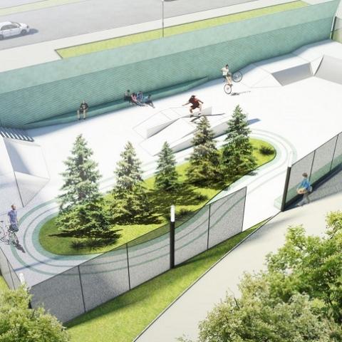 В Киеве появится скейт-парк