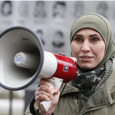 В Киеве предложили назвать сквер в честь Амины Окуевой