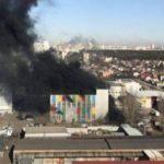 При пожаре в БЦ  modnaVilla  склады и офис крупного интернет-магазина не пострадали